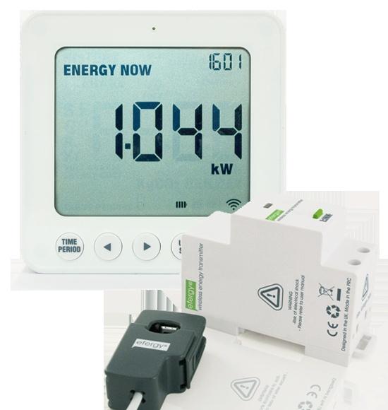El smartmeter que no necesita pilas en el emisor. Fácil de instalar.   http://www.efimarket.com/nuevo-efergy-e2-breaker