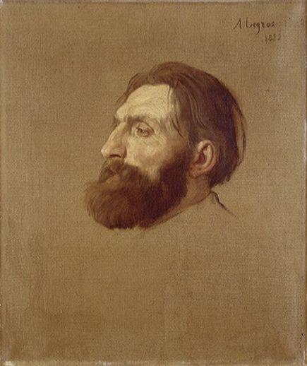 Auguste Rodin par Alphonse Legros (1882)