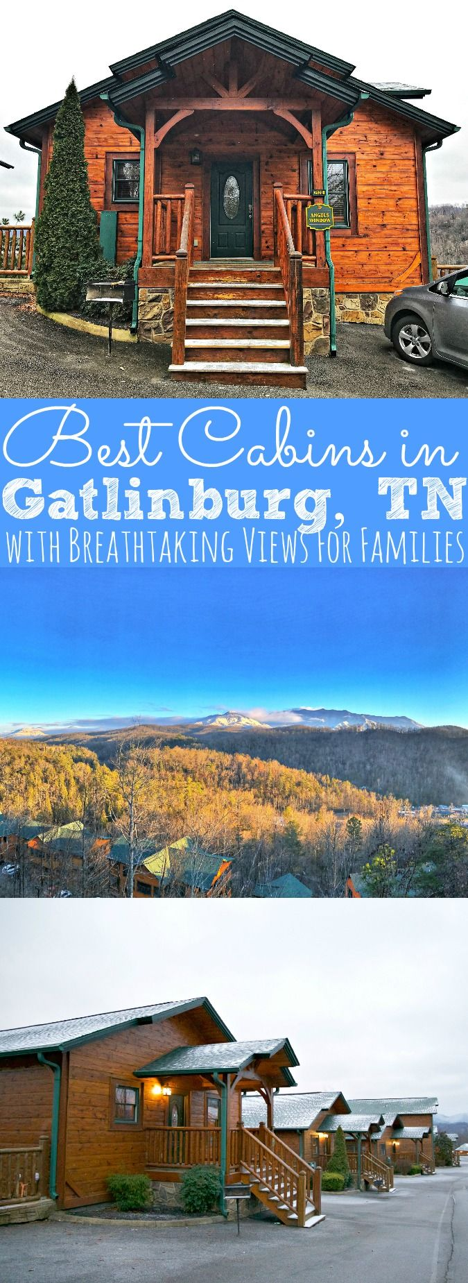 If you're looking for a weekend getaway with the most amazing views of the Smoky Mountains, then you need to check out the Best Cabins in Gatlinburg, TN! Cabins of the Smoky Mountains are luxury family friendly cabin resort that has every amenity a family could wish for! - simplytodaylife.com via @SimplyTodayLife