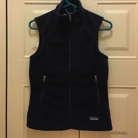 Patagonia fleece vest Navy blue fleece vest Patagonia Jackets & Coats Vests