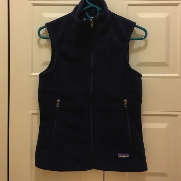 Patagonia fleece vest Navy blue fleece vest Patagonia Jackets & Coats Vests