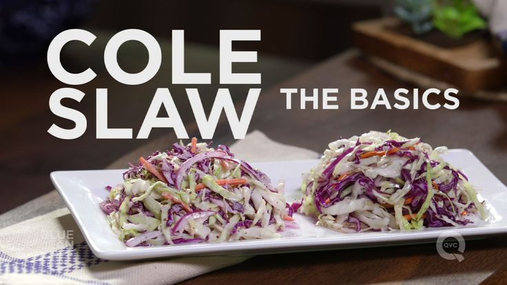 Coleslaw 2 ways! Blue Jean Chef Meredith Laurence teaches you how to make creamy…