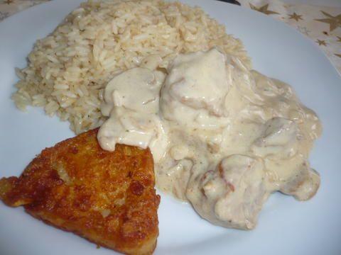 Koτόπουλο με σάλτσα μουστάρδας