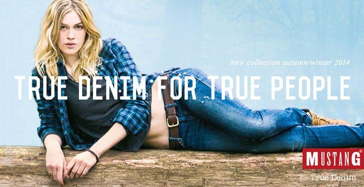 #jeansstore #jeansstorecom #mustang #mustangjeans #autumnwinter14 #fallwinter14 #newcollection