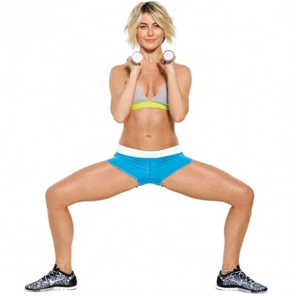 Try Julianne's total-body toning moves from our December issue!