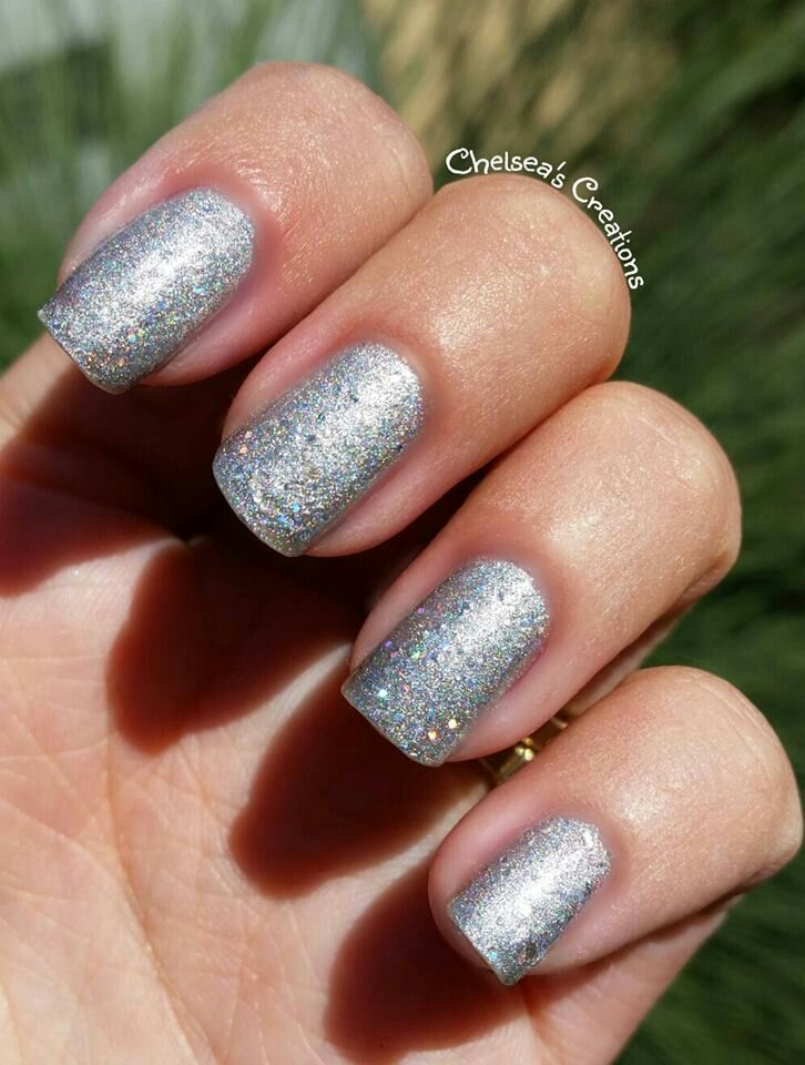 Nail Stamping Queen ~ Silver Storm
