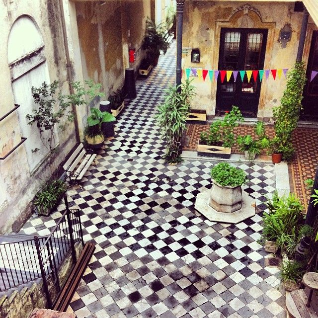 Patio d'une maison ancienne - San Telmo #buenosaires #santelmo