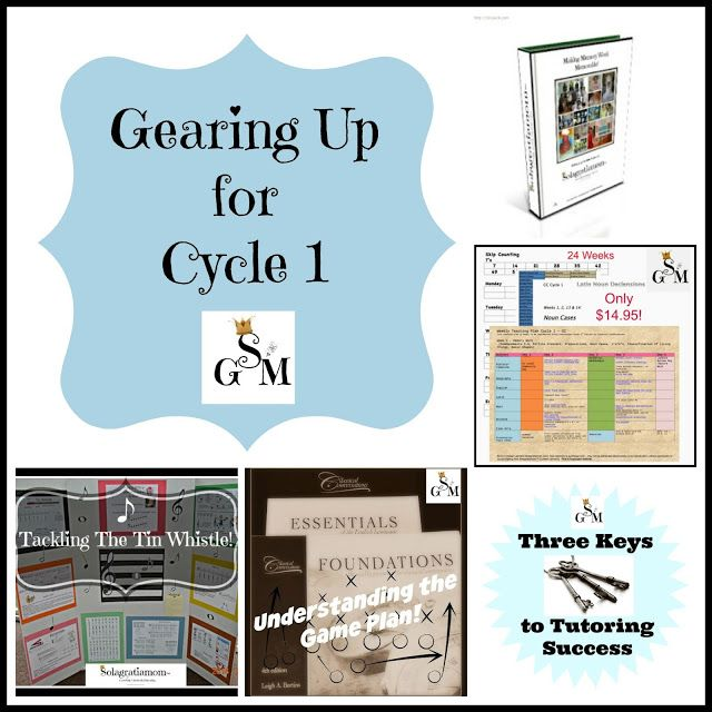 Looking for ways to plan and gear up for Cycle 1 CC?  Then you won't want to miss this best of the best on posts for Cycle 1 from Solagratiamom!
