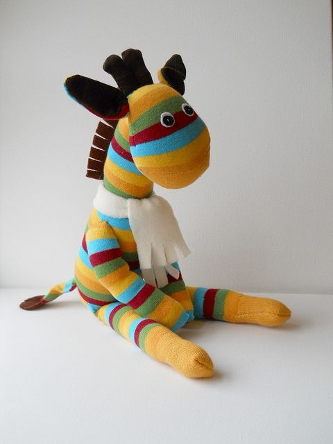 sock giraffe - Google Search