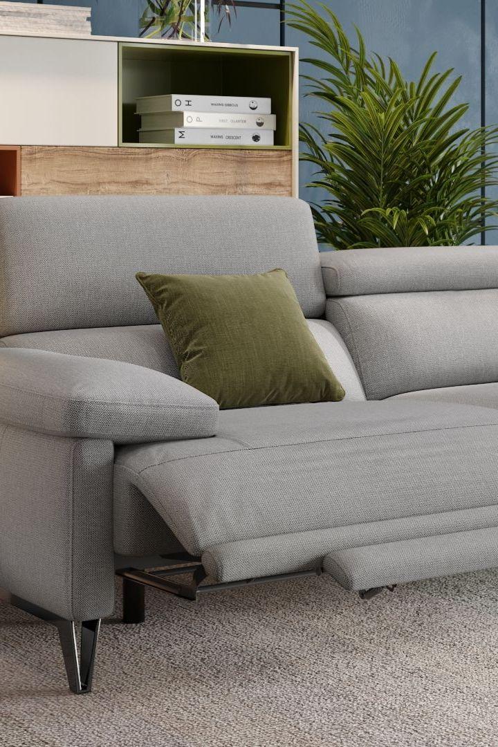 Funktionssofa Couches Aus Stoff Mit Vielseitigen Funktionen Modernem Design In 2020 Design Modernes Design Modern