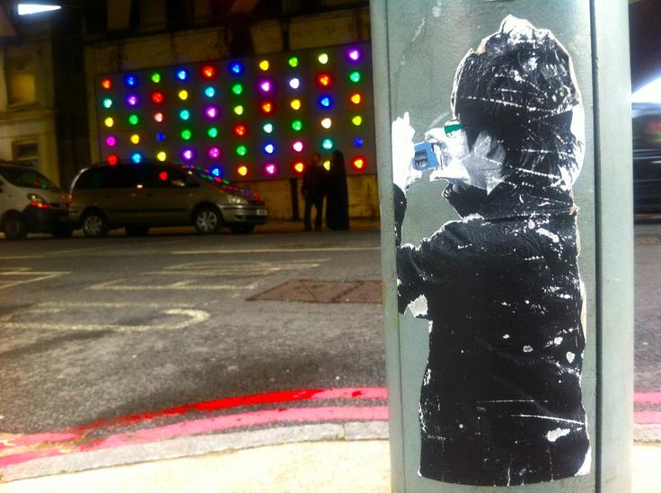 Near London Bridge Station, June 2012. Picture taken by Rachael Chapman