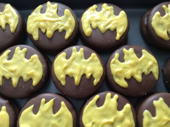 Batman Party Favors Boy Birthday Party by PartyTimeChocolates