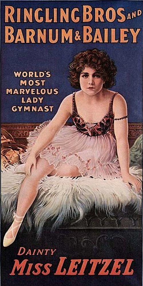 Miss Leitzel (Ringling i Barnum Circus).