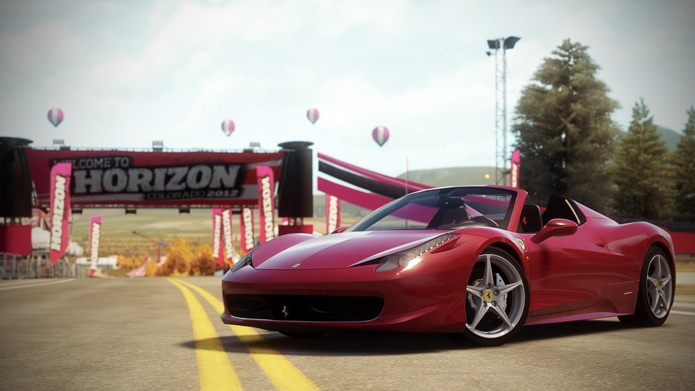 a new, very cool trailer video for the upcoming Forza Horizon!