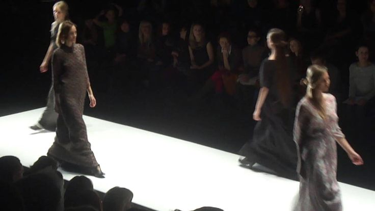 Lena Tsokalenko на Mercedes-Benz Fashion Week Russia