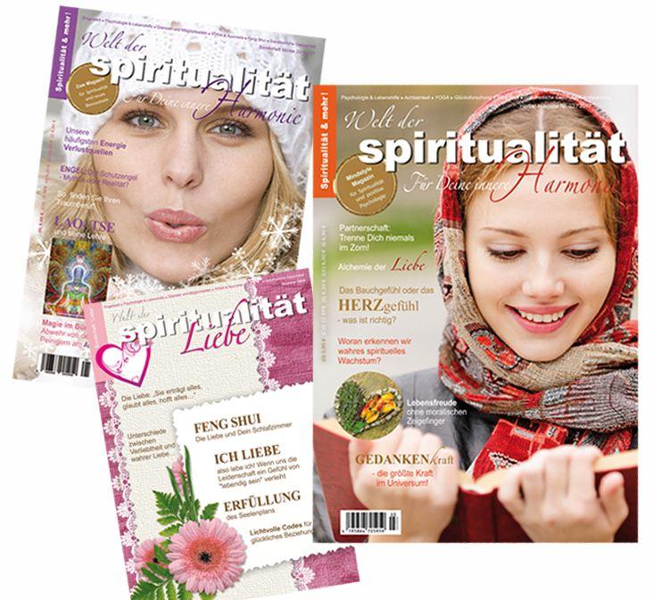 """Entdecken Sie den neuen Sinn und die Sinnlichkeit in Ihrem Alltag! - Spirituelle Zeitschrift """"Welt der Spiritualität"""" - schön, hilfreich und praxisorientiert! (Y) :) <3 Beziehen Sie die """"Welt der Spiritualität"""" im ABONNEMENT für nur 28,00 € inklusive Porto (innerhalb Deutschlands), bequem nach Hause und verpassen Sie keine Ausgabe mehr! In unserem Shop zu bestellen: https://www.welt-der-spiritualitaet.net/online-store oder hier: http://shop.blom-medien.de/product_info.php?products_id=27"""