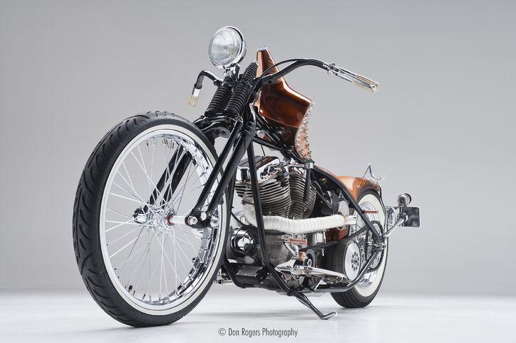 Bonafide Bettie // Harlot Cycles. sexiest bikes ever. custom made.
