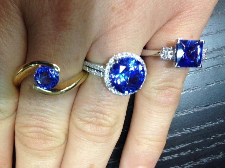 richlandgemstones.com -.buy loose tanzanite to make the ring of your dreams or  choose your fav style for our  next collection..