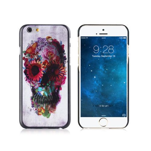 Floral Skull Design Case Cover - iPhone 6 Plus. From www.iToys.co.za