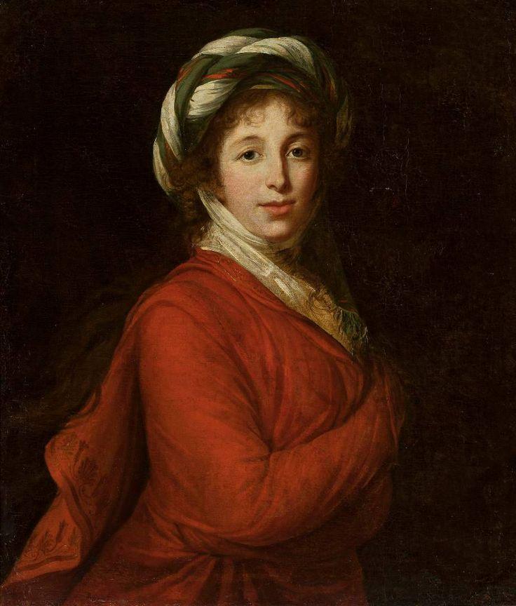 """""""Portret Heleny z Przeździeckich Radziwiłłowej"""" Marie Elisabeth-Luise Vigée-Lebrun."""