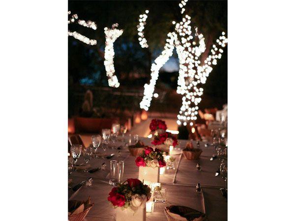 decoracion de bodas en la noche #casarcasar
