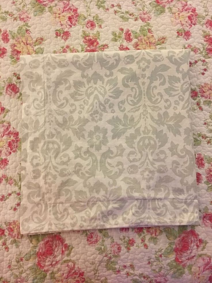 Two Restoration Hardware,  Euro Pillowcase Shams #RestorationHardware #Traditional