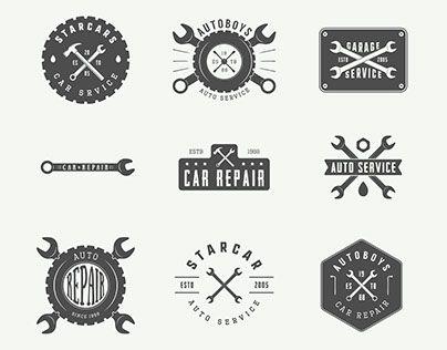 Más de 25 ideas increíbles sobre Taller mecanico logo en ...