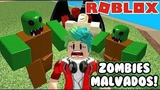 Escapa De Los Zombies Zombie Attack En Roblox Juegos Roblox