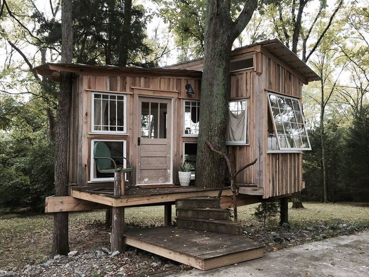 Treehouse Rentals Indiana Part - 42: The Fox Treehouse. A Cozy Treehouse With Lots Of Natural Light, Cozy  Interior,
