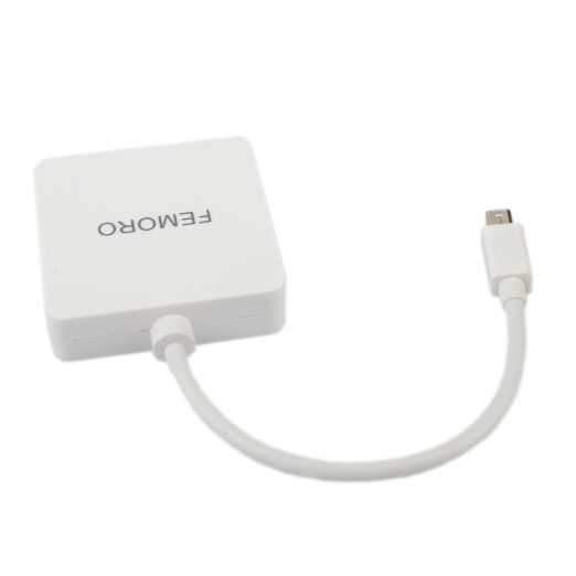 MINI DP to HDMI : Mini displayport to hdmi converter transmits both audio and video from computer or tablet to HD display via HDMI. Supports RESOLUTION 1080P. Supports Mirror/Extend Modes.iMac (Late 2009) and Mac Book Pro (Mid 2010), do not output audio over Mini DisplayPort.