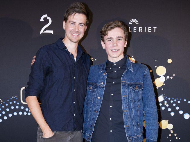 KAN VINNE PRIS: Pål Sverre Hagen og Tarjei Moe kjemper mot hverandre i kategorien «Beste mannlige skuespiller». De andre nominerte er Aksel Hennie og Anders Danielsen Lie, som ikke var til stede da nominasjonene ble annonsert.