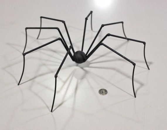 Metal Sculpture Welded Sculpture Metal Spider by RayMercadante