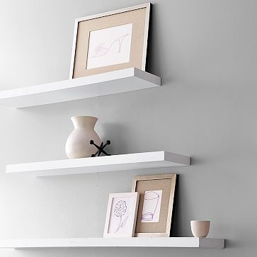 White Floating Wall Shelf 337 best floating shelves images on pinterest | home, diy and wood
