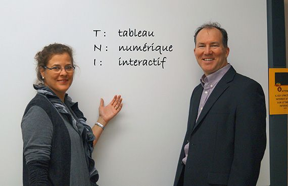 Tableaux numériques interactifs dans les écoles québécoises : des pratiques qui varient selon les enseignants