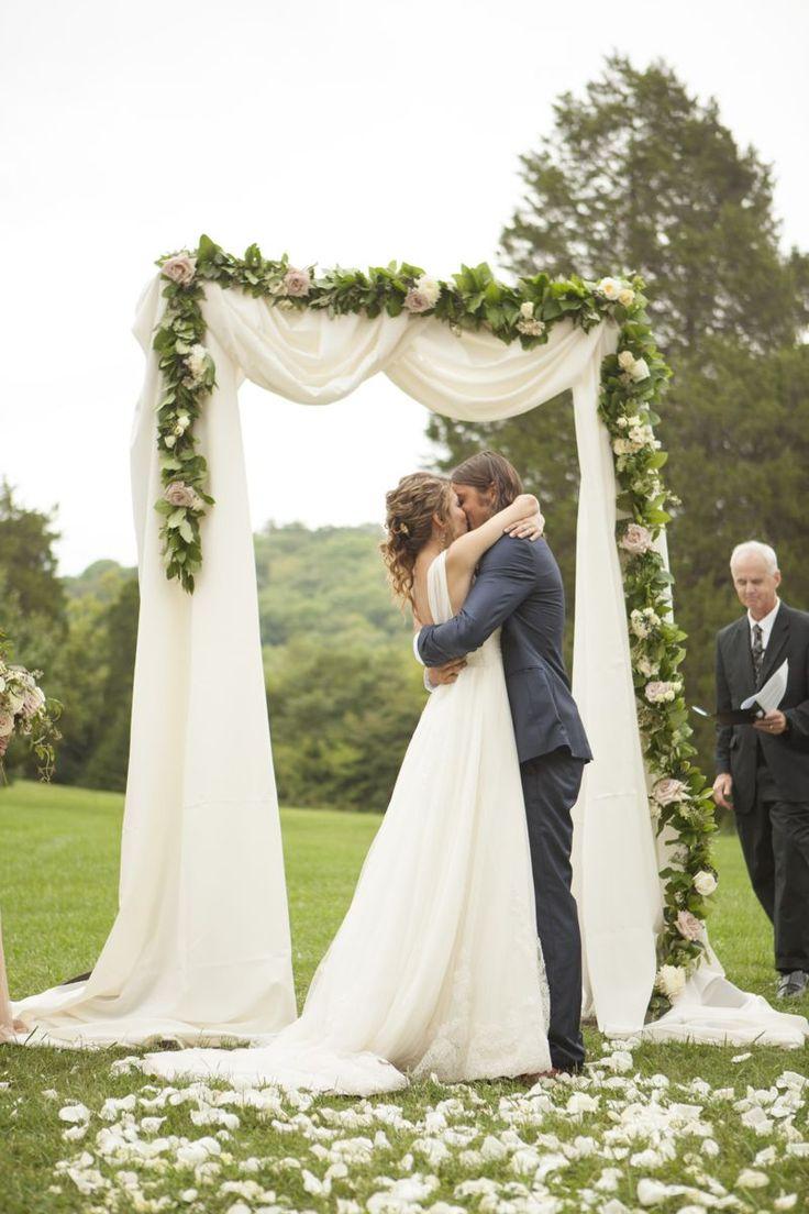 Wedding decorations arch   best Wedding ChapelVenue images on Pinterest  Wedding ideas
