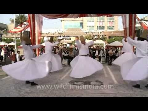 Semazen ( whirling Dervishes ) at the Turkish Fest 2012