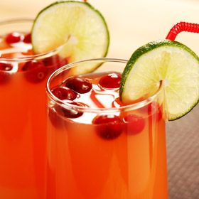 Sparkling Fruit Punch, a recipe from ATCO Blue Flame Kitchen's Holiday Collection 2002 cookbook,