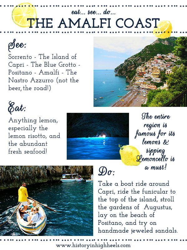 History In High Heels: La Costiera Amalfitana: The Amalfi Coast