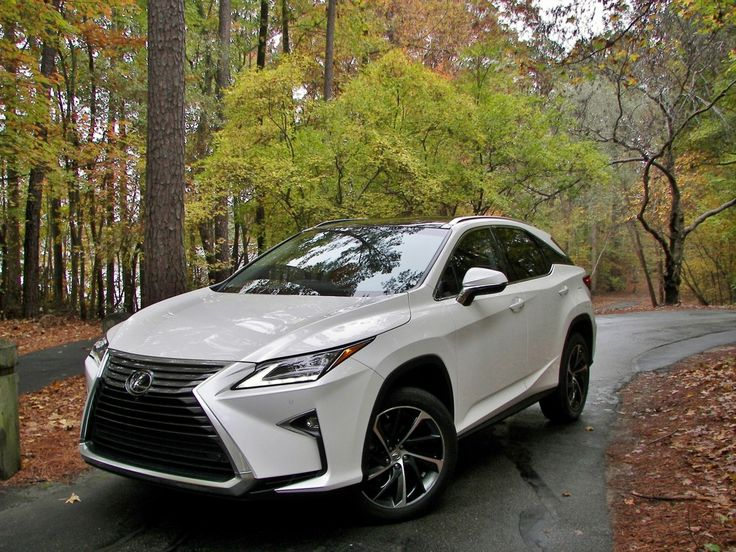 2016 Lexus RX 350, RX 450h - Carolina Finer - First Drive Review - Drive...He Said