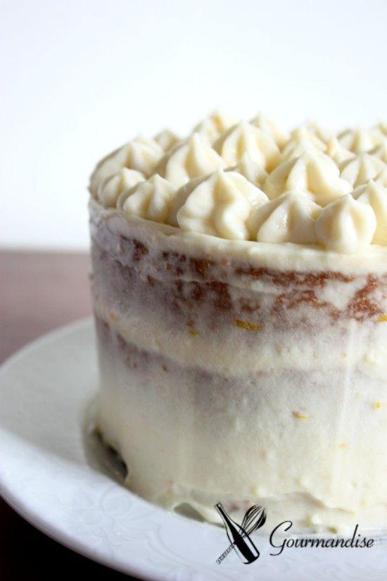 Gourmandise bolo de laranja recheado com creme diplomata