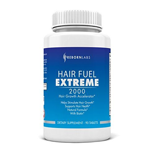 Hair Fuel Extreme | Best Hair Growth Vitamins | Includes Over 20 Ingredients & Hair Vitamins | Stronger, Thicker, & Longer Hair | Trusted by Men & Women