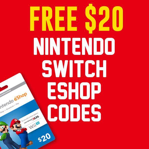 free nintendo eshop codes wii u