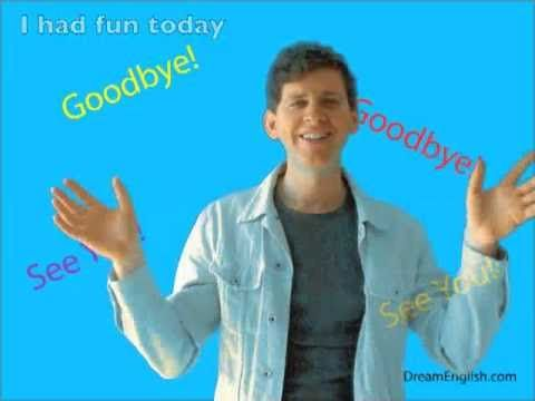 The Goodbye Song for Children.  End the class period?  Video or by rote.G Major. CHORUS  Goodbye goodbye, I had fun today ...  I   IV .... V..... I   :II   VERSES remain on tonic.