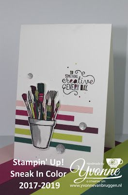 Yvonne Stampin '& Scrapping: Stampin' Up! Crafting Forever and new In Colors 2017-2019