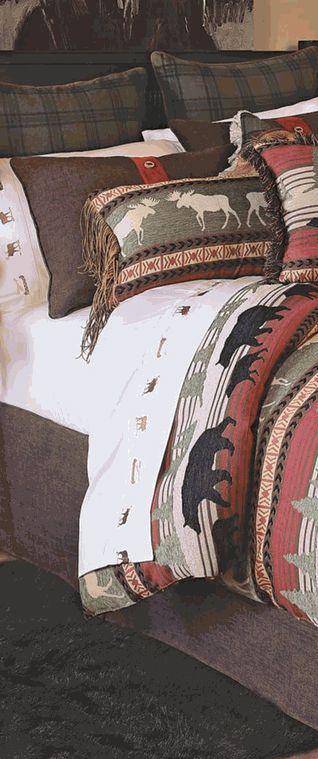 Timberline Ridge Rustic Bedding