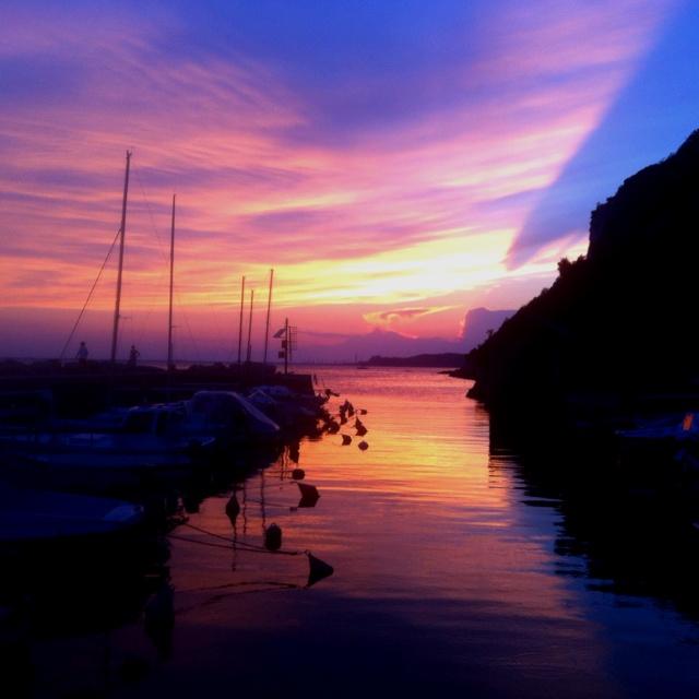 #trieste #sunset #costaDeiBarbari ...un sorriso e un po' di malinconia...