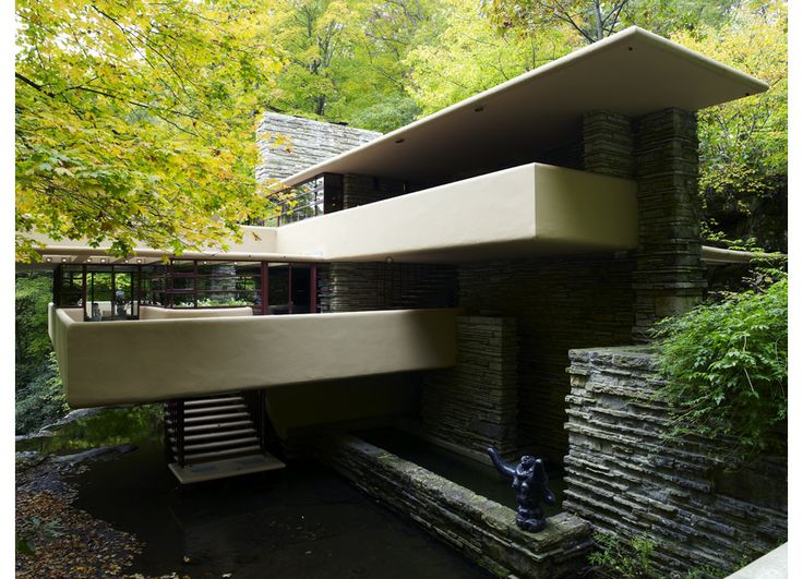 falling water - pensylvania - frank lloyd wright - 1936 - photo richard powers how have I not been there?