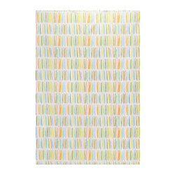 ÖNSKEDRÖM fabric, multicolour, stripe Width: 150 cm Pattern repeat: 64 cm Area: 1.50 m²