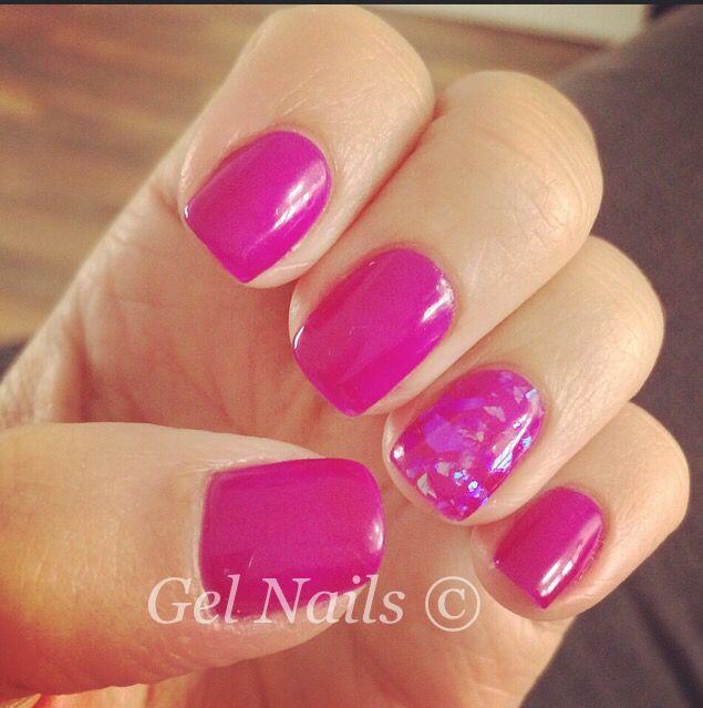 Gel polish #nails #bluesky #gel