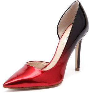GUESS Bittan 3 Red/Black pumps | clothes and accessories
